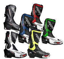 RST TRACTECH EVO BOOTS CE APPROVED MOTORCYCLE MOTORBIKE SPORT RACE ROAD 2017