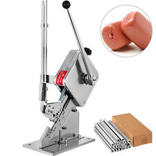 U-shape Sausage Clipping Clipper Machine 2 Boxes Clips Packing Sealer Manual