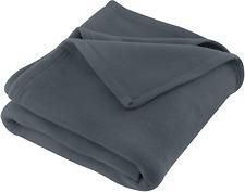"108"" x 90"" King Size Fleece Blanket Microfiber Plush Blanket for Home Bed & Sofa"