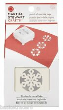 SKYLANDS SNOWFLAKE Martha Stewart Punch All Over The Page #42-90029 Christmas
