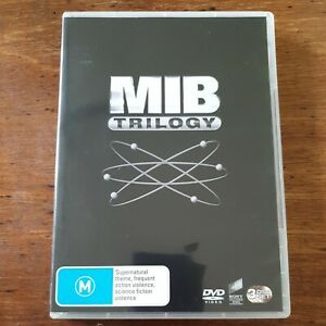 Men In Black Trilogy 3 DVD Set R4 – VERY GOOD FREE POST