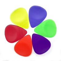 Wedgie Clear XL Guitar Pick Sampler Pack | Thin, Medium, and Heavy | 6 pcs