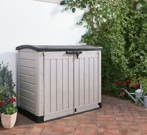 Keter Store-It Out Max Outdoor Garden Plastic Storage Box 1200L