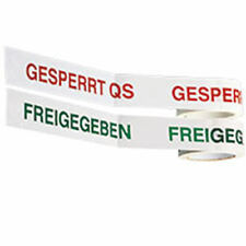 Klebeband DEFEKT, weiß/rot, PVC-Folie, selbstklebend, 50mm, 66m/Rolle
