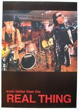 """U 2/u2 poster """"Even better than the real thing"""""""