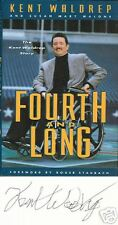 SIGNED Fourth and Long / Kent Waldrep, Susan Malone 1st