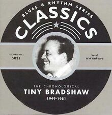 1949-51 Tiny Bradshaw new sealed jump blues CD 26tx Train Kept A-Rollin Classics
