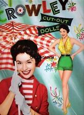 Vintage Uncut 1955 Pat Crowley Paper Dolls~#1 Reproduction~Gorgeous Wardrobe!
