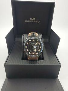 NEW Bomberg Bolt 68 Automatic Men's Watch BS45APBA.045-4.3 MSRP $1695 NO RESERVE