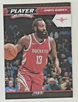 2017-18 Panini PLAYER OF THE DAY #14 JAMES HARDEN Brooklyn Nets QTY AVAILABLE