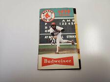RS20 Boston Red Sox 1979 MLB Baseball Pocket Schedule - Budweiser