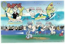 MODERN GEMS - Maldives - Popeye - Summer Sports - Sheet Of 6 - MNH