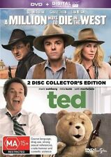 A Million Ways To Die In The West / Ted (DVD, 2014, 2-Disc Set)