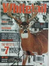 Whitetail Journal Feb 2017 When Not To Feed Deer Bigger Bucks FREE SHIPPING sb
