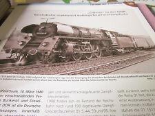 Chronik der Eisenbahn 4/5A: 1980 Ölkrise DDR Reichsbahn reaktiviert Dampfloks