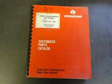 International Model 1954 Customized Parts Catalog