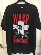 W.A.S.P. CRIMSON IDOL1992 WASP Jonathan Lives Here Europe Tour RARE T-SHIRT- XL