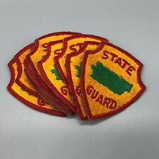 1940s Puerto Rico State Guard Ssi Patch Lot x10 951O