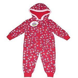 Girls Pyjamas Sleepsuit With Hood Official Peppa Pig 1-6 Years