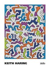 POP ART PRINT - Untitled (Palladium Backdrop), 1985 by Keith Haring Poster 22x30