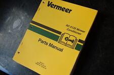 VERMEER RC-5120 DISC MOWER CONDITIONER Parts Manual book catalog list spare hay