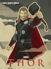 Marvel Thor: Marvel Cinematic Universe Phase 1 (Novel) Book The Cheap Fast Free