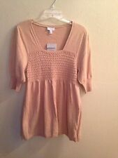 A Pea in the Pod wool blend sweater dress, size Medium, New with Tags!!!!