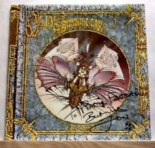 JON ANDERSON OLIAS OF SUNHILLOW LP RECORD SIGNED TO PLASTIC FANTASTIC w/ COA YES