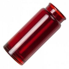 Jim Dunlop 277RED  Blues Bottle Medium Red Glass Guitar Slide 277