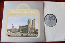 WESTMINSTER ABBEY CHOIR QUIRES PLACES 25 LP GUEST ABBEY LPB791 NM (1977) TREBLES