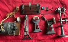 jouet ancien lot technique machine à vapeur ou electrique outils divers + moteur