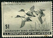 RW9 1941 Baldpates Duck Stamp Unused OG Cat $225.00 WOUNDED DUCK!!  s37