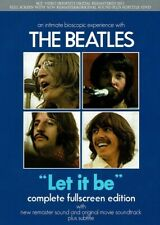 LET IT BE THE BEATLES complete fullscreen edition Movie 81 min new remater sound