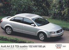 PRESS - FOTO/PHOTO/PICTURE - AUDI A4 2.5 TDI Quattro 132 kW 2001