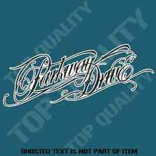 PARKWAY DRIVE DECAL STICKER HEAVY METAL MUSIC BAND DECALS STICKERS HEAVY ROCK