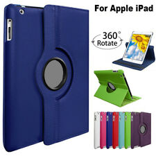 Case For Apple iPad 2019 10.2/AIR MINI PRO ALL 360° Leather Rotating Smart Cover