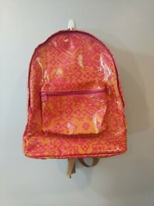 Pendleton Aztec Pink and Orange Vinyl Backpack Hard to Find