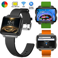 3G WIFI GPS Tracker Bluetooth Smart Unlocked Watch Phone GSM SIM Slot Android5.1