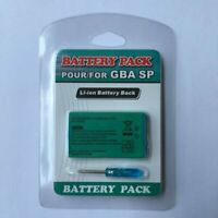 Rechargeable Battery Pack for Nintendo Game Boy Advance SP GBA + Tool