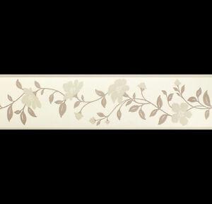 Neutral Cassia Floral, Wallpaper Border 20