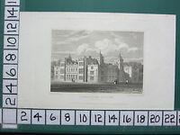 1822 Datierter Antik Aufdruck ~ Charlton House Wiltshire