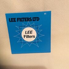 Lee 85 Filtre Filtre Gel 100 mm x 100 mm