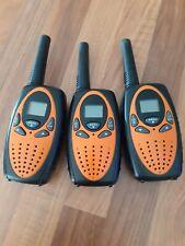 Walkie talkies x 3 medium to long range approx 3-5k