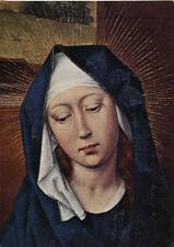 Alte Kunstpostkarte - Rogier van der Weyden - Maria (Detail)
