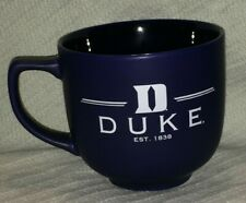 "RFSJ, Inc. ""DUKE BLUE DEVILS EST. 1838"" Cobalt Blue 22 oz. Martin Soup Mug/Bowl"