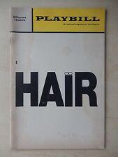 December 1969 - Biltmore Theatre Playbill - Hair - Keith Carradine - Sally Eaton