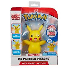 Pokémon Electronic My Partner Pikachu Figure with Lights & Sounds - 0PM-97759