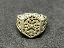 Very Old Extremely Rare Jewelry Ring Ancient Vintage-Antique Viking Style Metal
