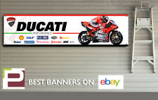 Ducati Jorge Lorenzo XL Sponsor Logo Banner for Workshop, Ducati Corse, MotoGP