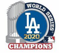 2020 WORLD SERIES CHAMPIONS PIN L.A. DODGERS TROPHY LOS ANGELES MLB CHAMPIONSHIP